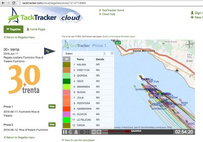 TackTracker Cloud - Web Player